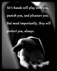 Welke vrouw wil haar onderdanige gevoelens op een veilige manier en met respect beleven